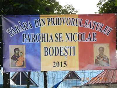 Tabara din Pritvorul satului Bodesti 2015
